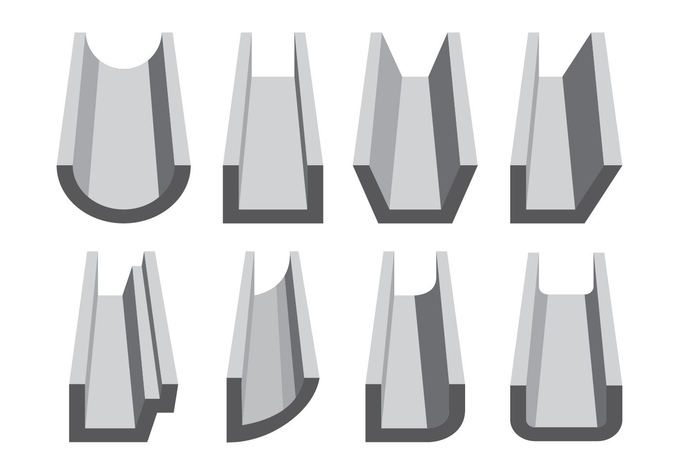 rinne symbole festlegen kostenlose vektor kunst archiv. Black Bedroom Furniture Sets. Home Design Ideas