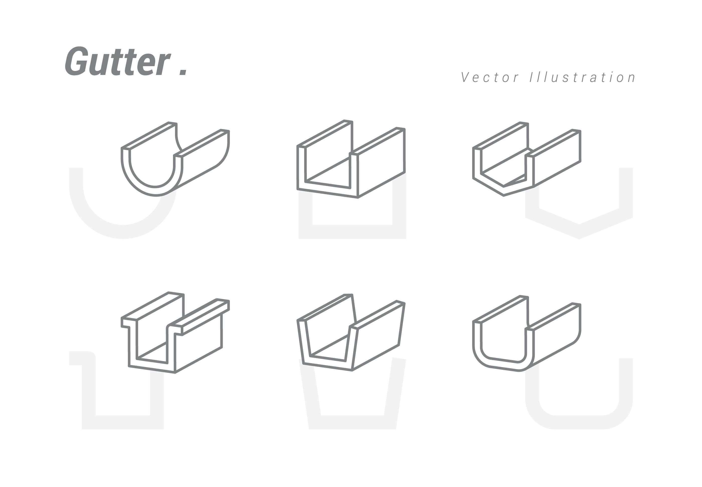 Gutter Vector Illustration Download Free Vectors