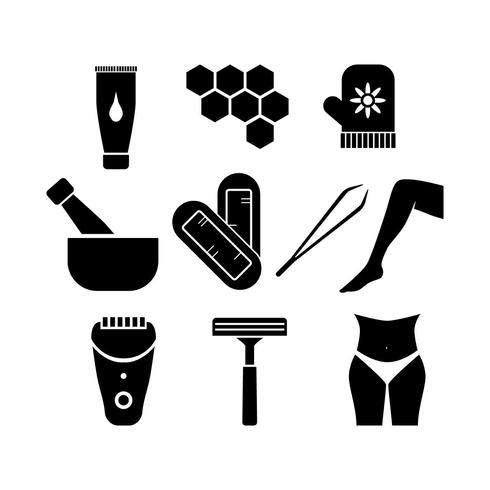 Free Beauty Silhouette Icon Vector