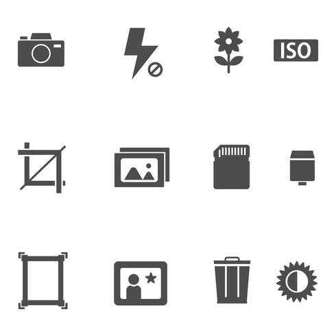 Free Camera And Photography Icon Set