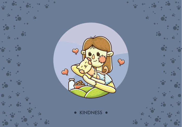 Free Animal Kindness Vector