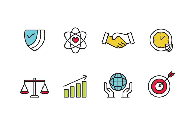 Social Responsibility Icon Pack