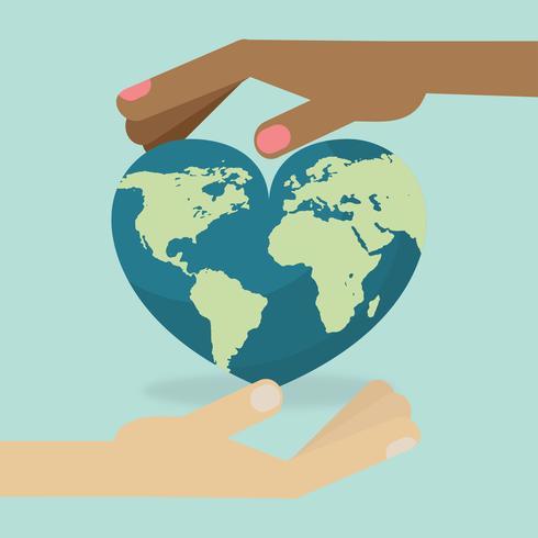 Mantenha o vetor de tipo mundial