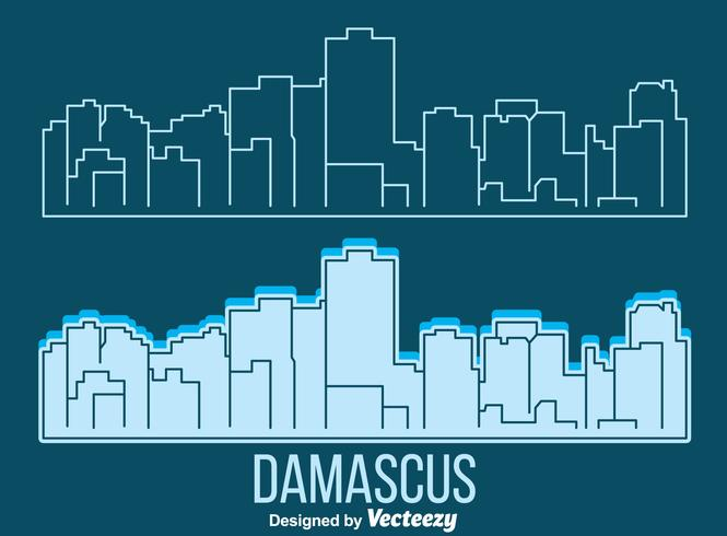 Vector de Damasco Skyline