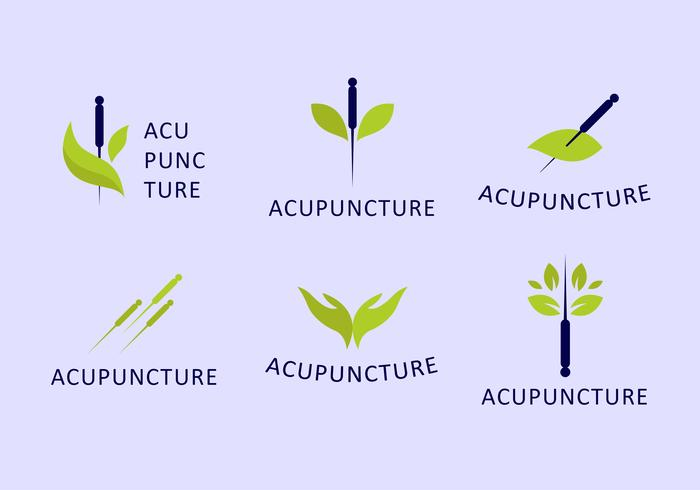 Acupuncturist Logo Set
