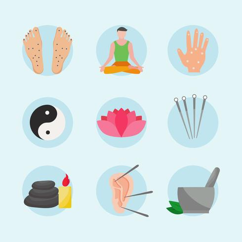 Acupuncture Icons
