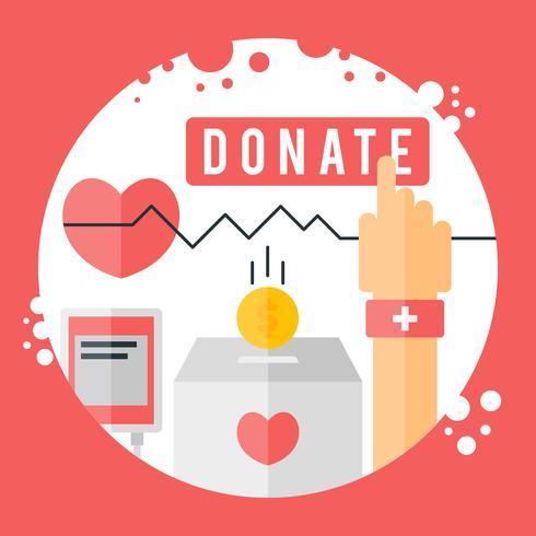 Vectores de caridad únicos gratis