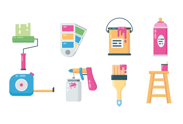 Paint Equipment Icons