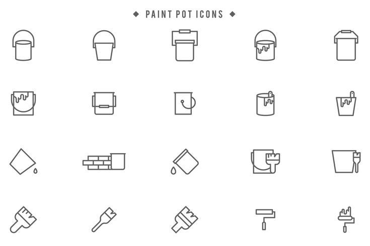 Vectores de pintura gratis