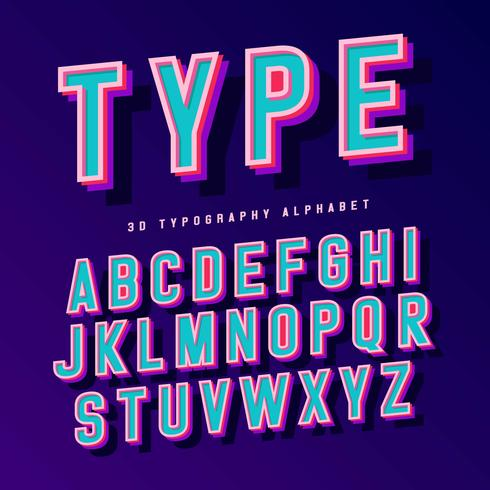 Typography Free Vector Art