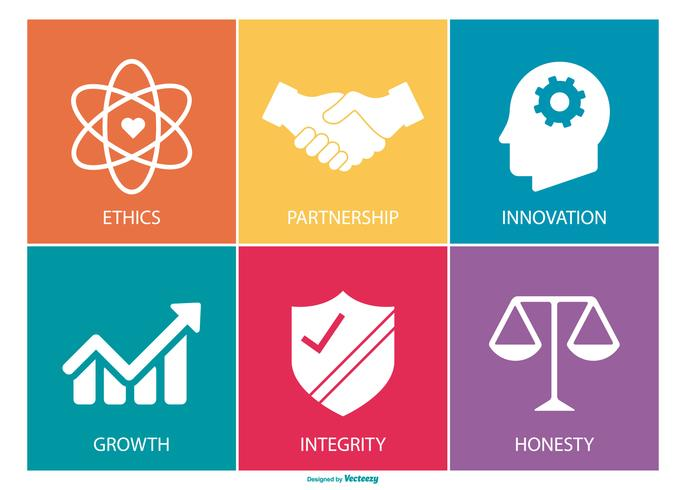 Core Values Icon Collection