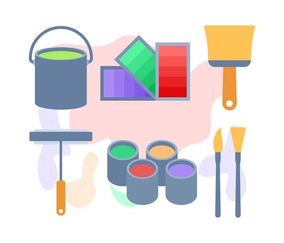 Gratis Utestående Paint Tools Vectors