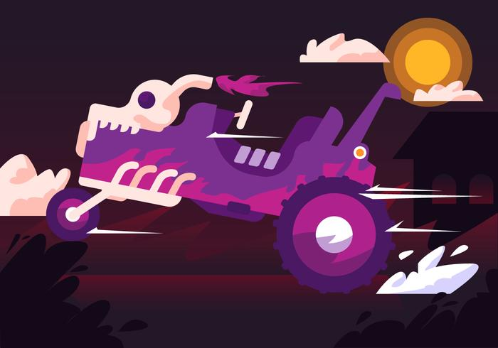 Haunted Hayride Vector