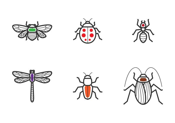 Insect Outline Icon