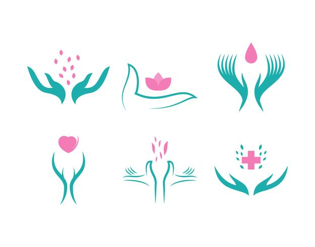 Free Outstanding Healing Hands Vectors