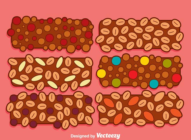 Granola Collection Vector