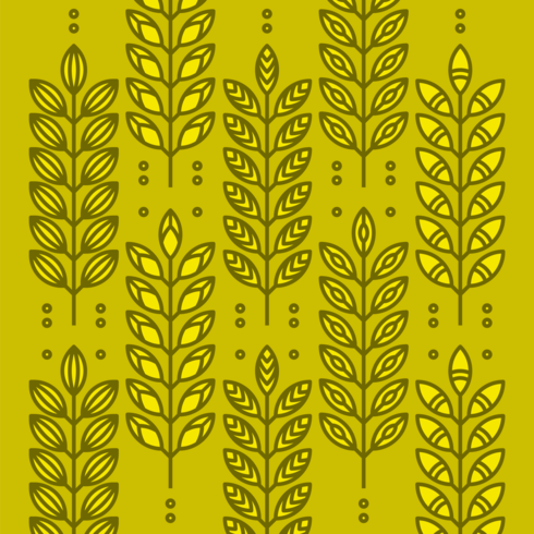 Wheat Ears Icons vector