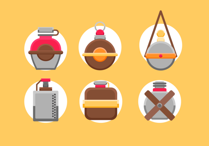 Cateen Free Vector Pack