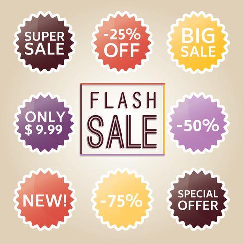 Free Price Flash Vector