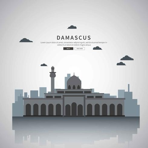 Gratis Damaskus Silhouette Illustration