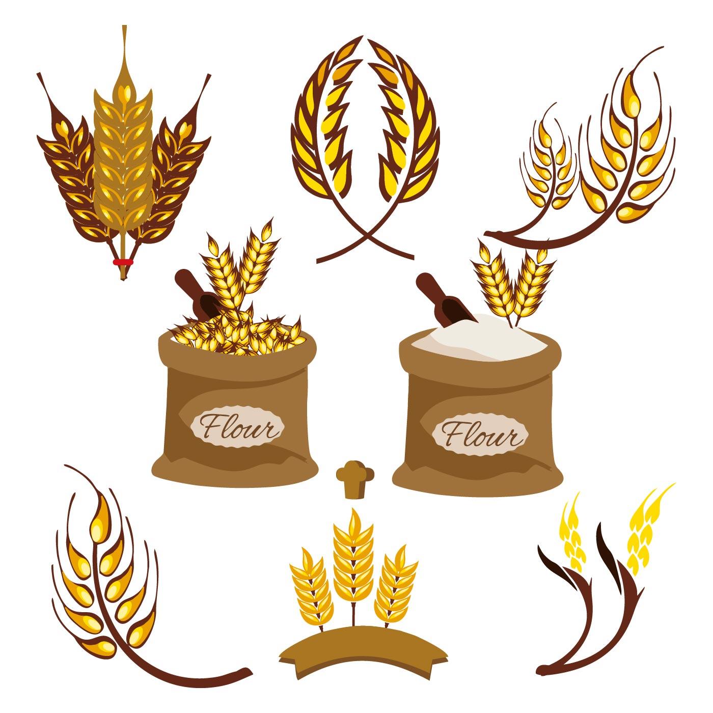 Wheat Ears Vector - Download Free Vector Art, Stock ...