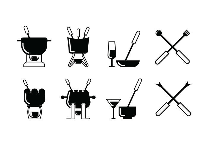 icône de jeu de fondue