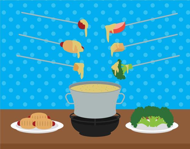 Illustration vectorielle fondue