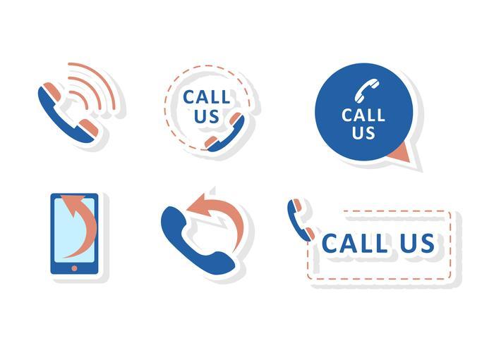 Call Us Icon Vectors