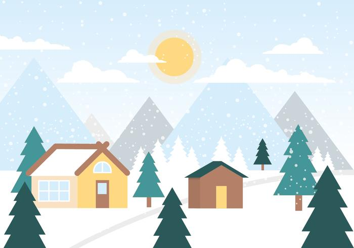 Free Christmas Background Vector