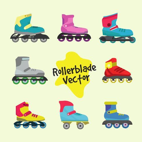 rollerblade vektor