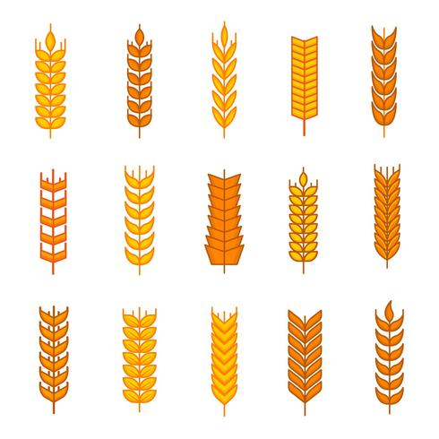 Free Wheat Ears Icons Vector