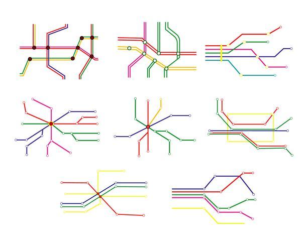 Tube Map Vector