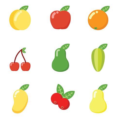 Frukt vektor ikon