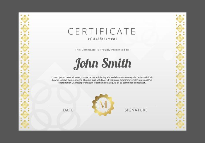 certificate template free vector art 26642 free downloads