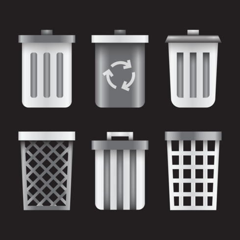 Realistic Waste Basket