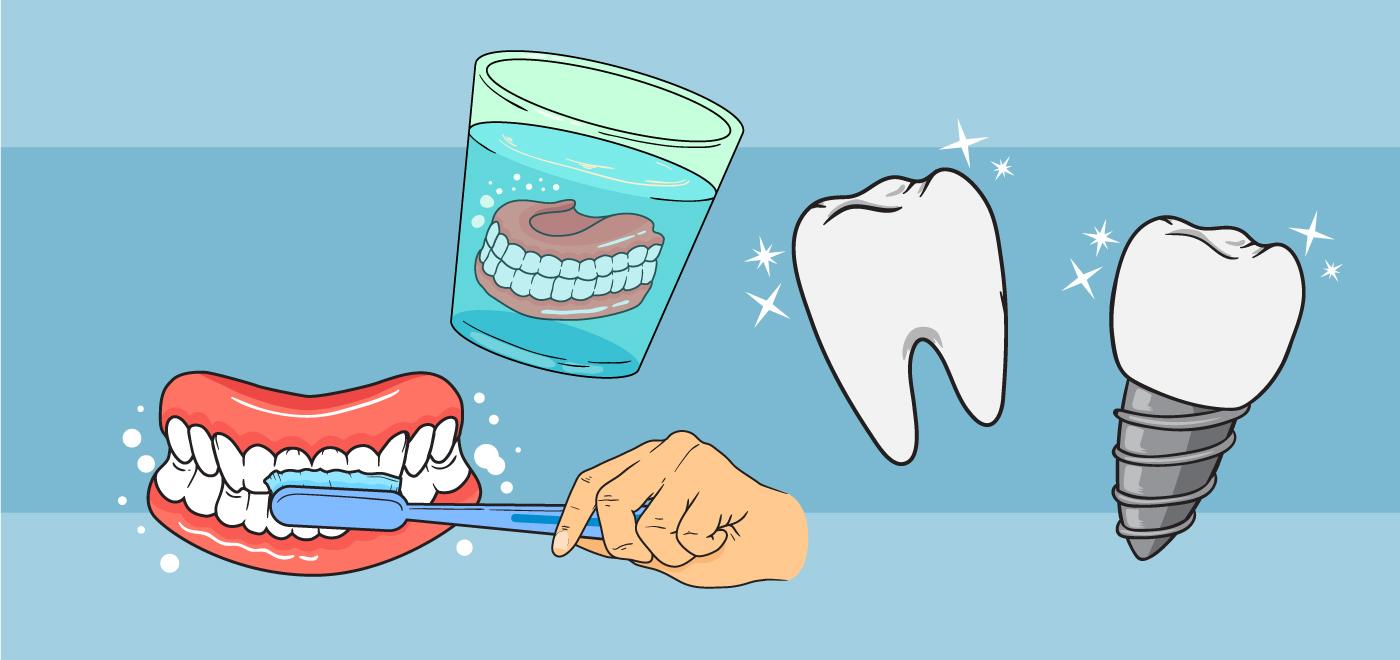 прикольные картинки с зубными протезами