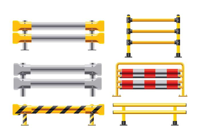 Pacchetto di guard rail vector