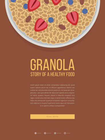 Granola Mobile Advertising Template