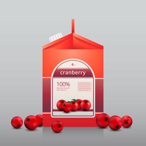 Cranberries Juice Advertising Mall