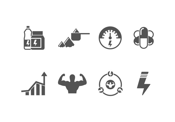 Working Out Vector Icon