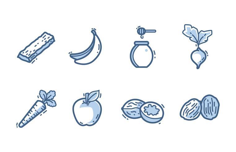 Zuckerquellen-Icon-Pack
