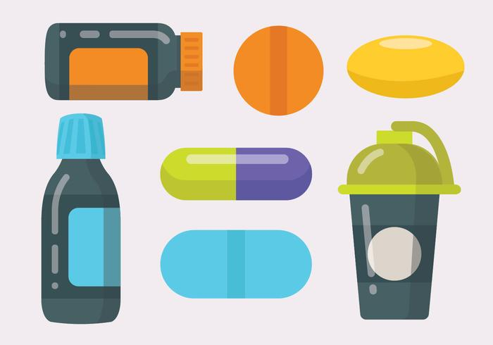 Supplements Vector Pack