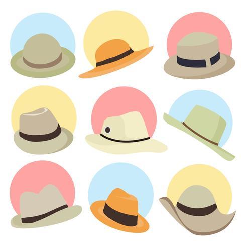 e326fd30 Free Panama Hat Vector - Download Free Vector Art, Stock Graphics ...