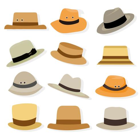 Free Panama Hat Icons Vector