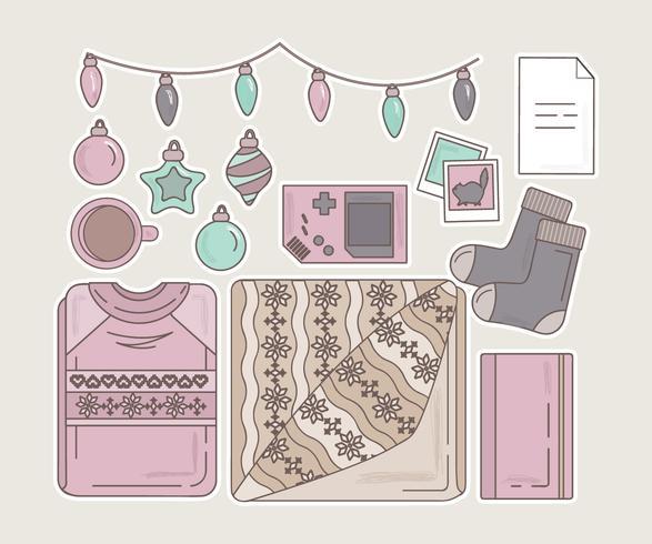 Vector Winter Essentials