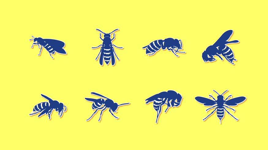 Hornets Sticker Gratis Vector
