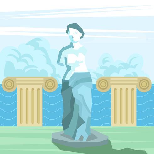 Statue de la déesse grecque Aphrodite