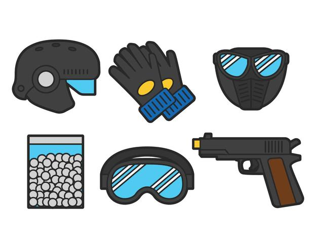 Airsoft vector set