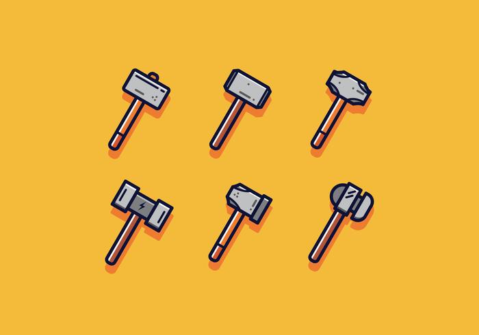Free Sledgehammer Vector