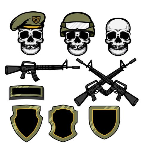 Airsoft mascots badge